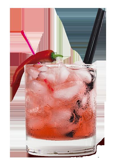 Cocktail Tequila San José Piment Crush